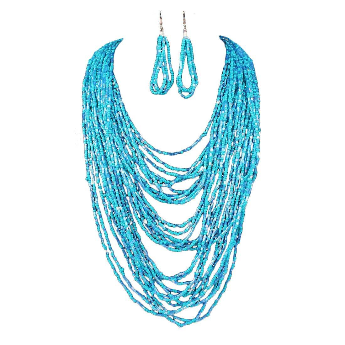 Brianne Bead Necklace Set