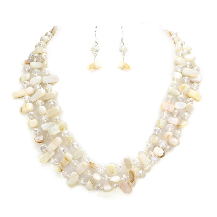 Julieta Bead Necklace Set