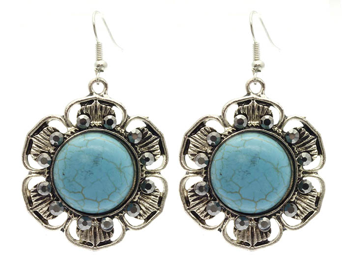 Christine Turquoise Earrings