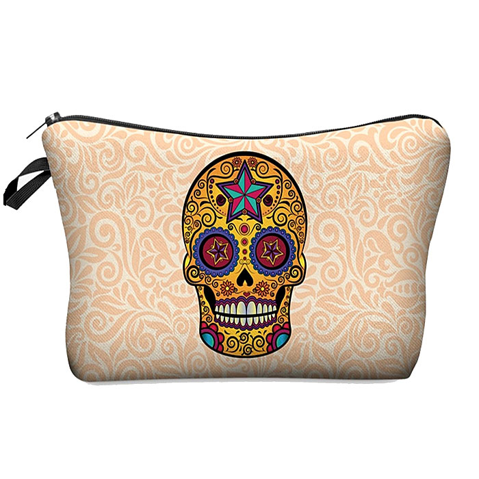 Make Up Bag Sugar Skull