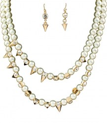 Victoria Pearl Necklace Set