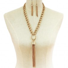 Siena Y Chain Necklace Set. II