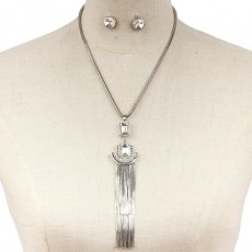 Maurizia Y Chain Necklace Set II