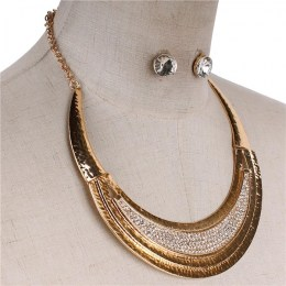 Corine Crescent Necklace Set III