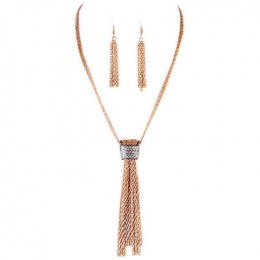Musetta Y Chain Necklace Set