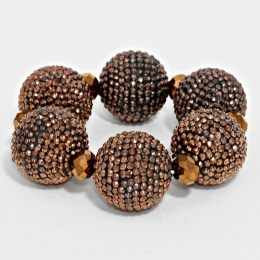 Chauntel Fire Ball Bracelet