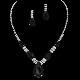 Liandra Rhinestone Necklace Set
