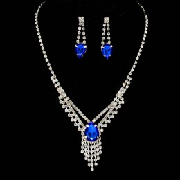 China Rhinestone Necklace Set