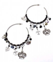 Honor Hoop Earrings