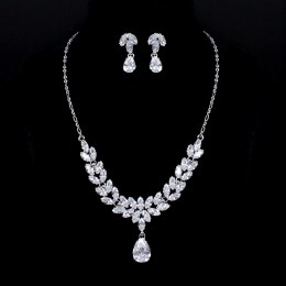 Leonarda CZ Necklace Set