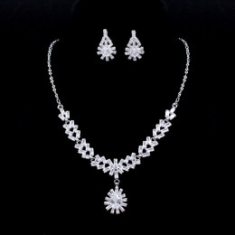 Elodie CZ Necklace Set