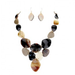 Madelyn Stone Necklace Set