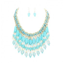 Adriana Bead Necklace Set