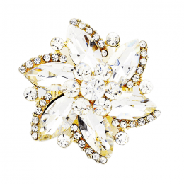 Caresse Flower Ring