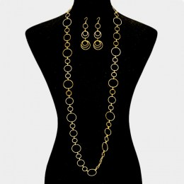 Emilia Chain Link Necklace Set