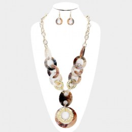 Lea Y Chain Necklace Set 2