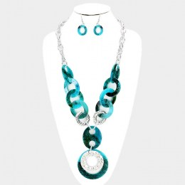 Camille Y Chain Necklace Set 2