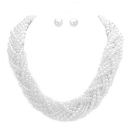 Florencia Pearl Necklace Set