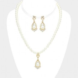 Fia Pearl Necklace Set II