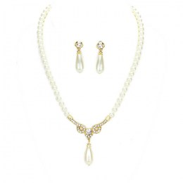 Ciri Pearl Necklace Set I