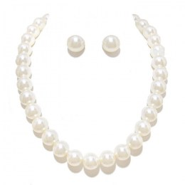 Violeta Pearl Necklace Set