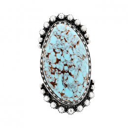 Calandre Turquoise Ring