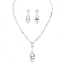 Aitana Rhinestone Necklace Set