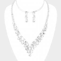 Antonia Crystal Necklace Set 2