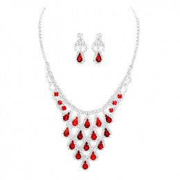 Florencia Rhinestone Necklace Set