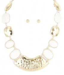 Roberta Stone Necklace Set.