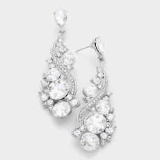 Cher Crystal Earrings