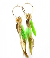 EFH017 Feather Earrings