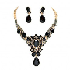 Adalyn Crystal Necklace Set