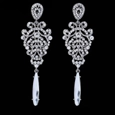 Donatella Rhinestone Earrings