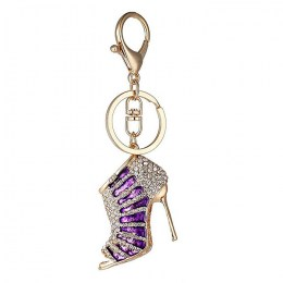 Shoe Keyring Purple 2