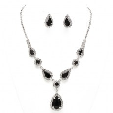 Meadow Rhinestone Necklace Set II