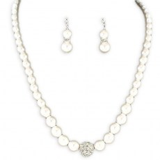 Rosalie Pearl Necklace Set