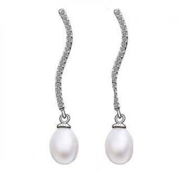Camila Faux Pearl Earrings 1