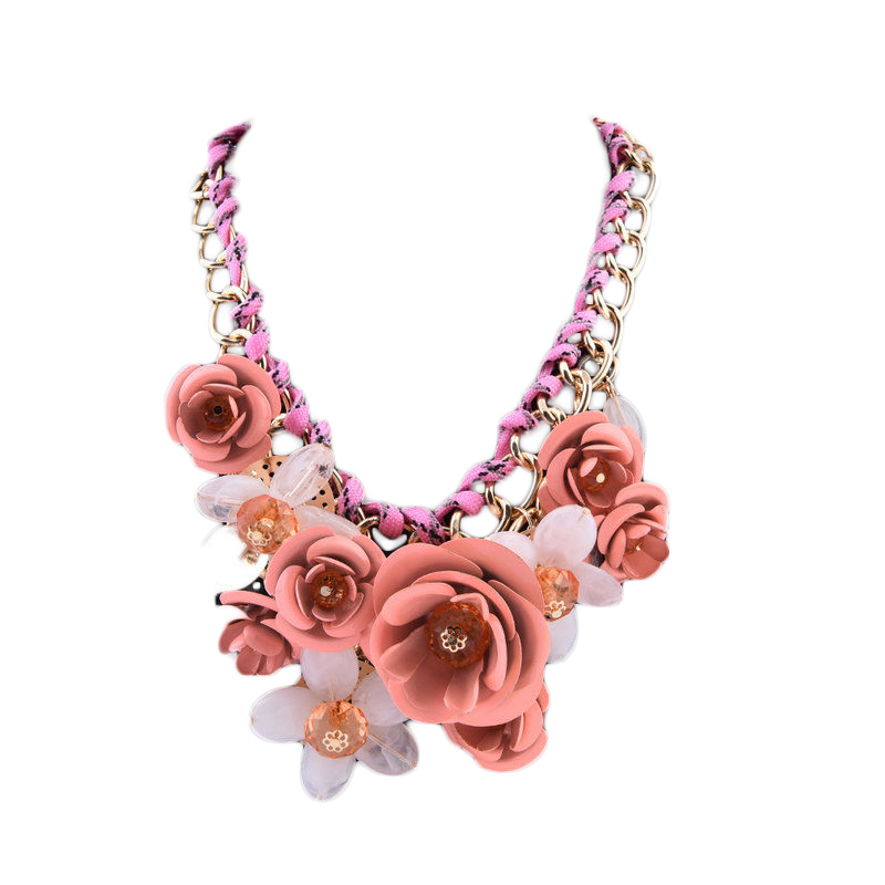 Sybil Bib Necklace